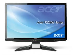 "Acer P224WAbmid 22"" Black"
