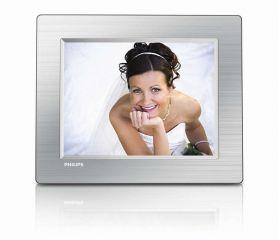"Philips 8FF3CME 8"" LCD 4:3 frame ratio PhotoFrame"